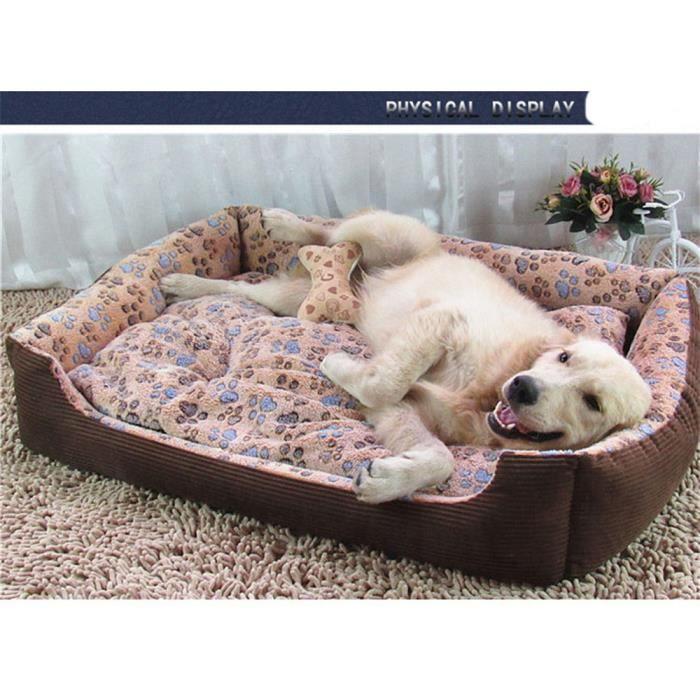Ouniondo® Chaud Dog Pet Beds Maison Cat Coussin Mat Pad Panier Nid Douillet Pour Chiens Co - M_poi1034