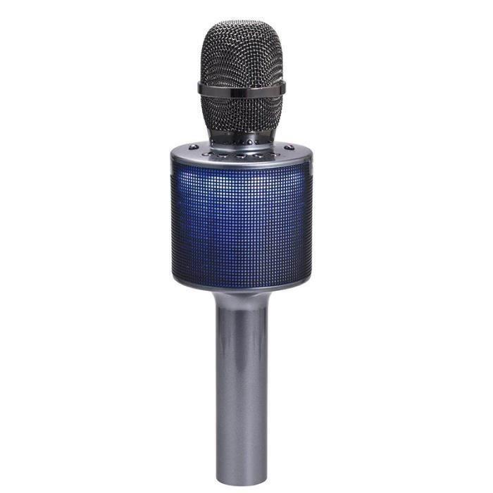 Rn L666 Microphone Karaoke Sans Fil , Musique À Main Bluetooth Compatible Pour Iphone Android - Noir