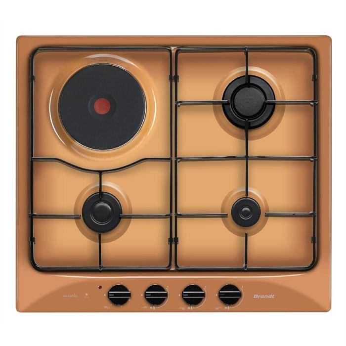 Table De Cuisson Mixte Te1017f Achat Vente Plaque Mixte Cdiscount