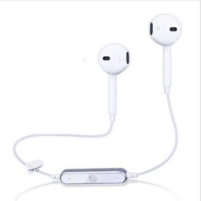 Haute Qualité Casque Sans Fil Ecouteur Bluetooth Sport Classique Intra Auriculaire