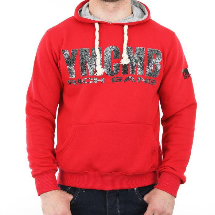 Sweat À Rouge Achat Ymcmb Vente Capuche Sweatshirt Rich G rr4pHqg 0c7d54442c3