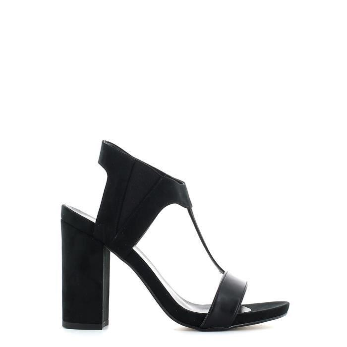 Grace shoes Sandales à talons hauts Femmes Noir a4Suf