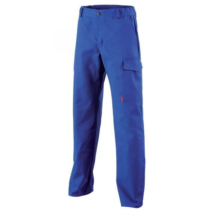pantalon bleu de travail achat vente pas cher. Black Bedroom Furniture Sets. Home Design Ideas