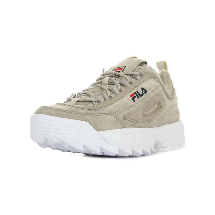 Disruptor Achat Baskets Fila S Gray Wmn Beige Feather Low WdQrCexoB