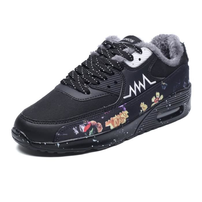 Baskets Chaussures Homme Noir uoayolC