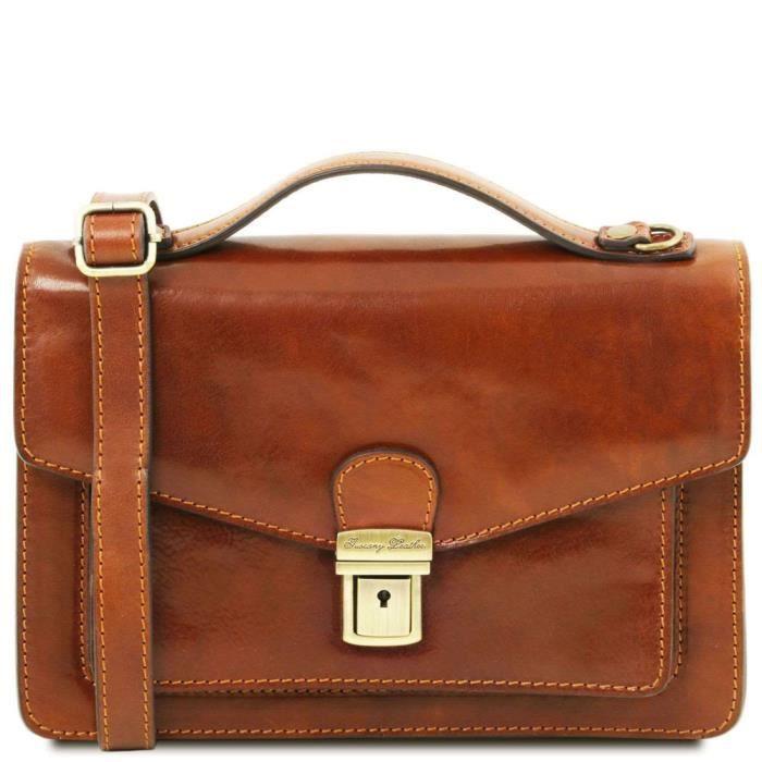 Tuscany Leather - Sacs en cuir - TL Bag - Miel (TL141443)