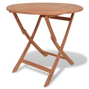 Table ronde exterieur achat vente table ronde exterieur pas cher cdiscount - Table a manger exterieur ...