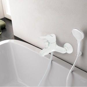 mitigeur blanc bain douche en laiton pour baignoir Résultat Supérieur 14 Bon Marché Mitigeur Bain Douche Blanc Photographie 2018 Uqw1
