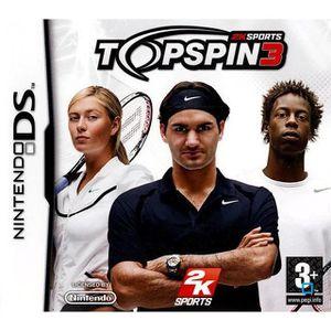 JEU DS - DSI TOP SPIN 3 / JEU POUR CONSOLE DS