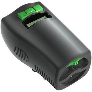 TETRA Distributeur automatique de nourriture MyFeeder 20 - Noir et vert - Pour poissons