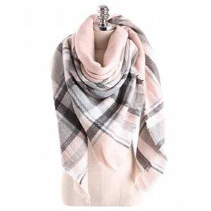 ECHARPE - FOULARD tartan écossais doux pour femme écharpe écharpe ch 72dcab56312