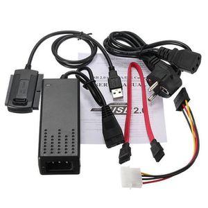 CÂBLE E-SATA SATA - PATA - IDE vers USB 2.0 Adaptateur Câble po