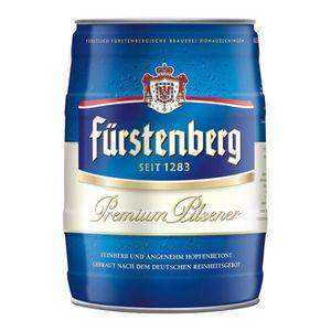 BIÈRE 2 x Furstenberg fût de 5 litres de 4,8 % Vol.