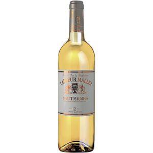 VIN BLANC AOC Sauternes Lafleur Mallet 2014 - vin blanc liqu