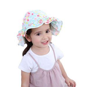 277150033d8a CHAPEAU - BOB Bébé Enfant Fille Chapeau de Soleil Bow tie Anti-U