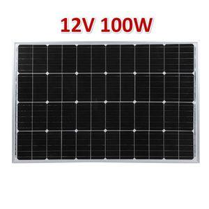 KIT PHOTOVOLTAIQUE panneau solaire monocristallin de cadre en alumini