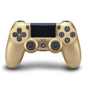 MANETTE JEUX VIDÉO Manette PS4 DualShock 4 Gold V2+2 boutons+1  LED L