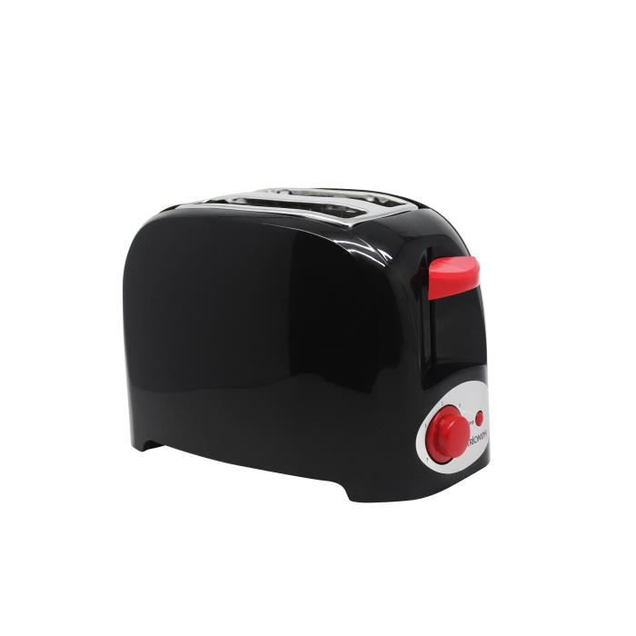 Puissance 750W - 2 petites fentes - Cool Touch - Thermostat 7 positions - Fonction annulationGRILLE-PAIN - TOASTER