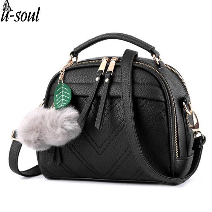 sac à mainLes femmes Sacs pour dames en cuir PU sac fourre-tout de la femme -820
