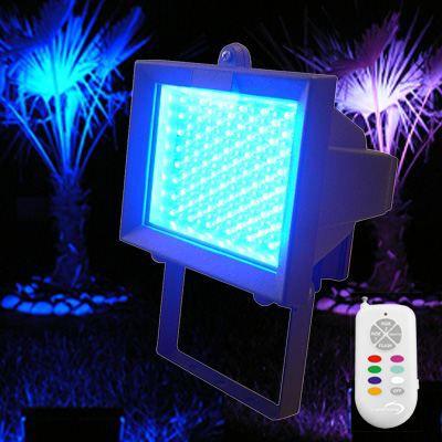 Projecteur led rgb 18w t l commande achat vente projecteur ext rieur projecteur led rgb for Tele achat projecteur noel