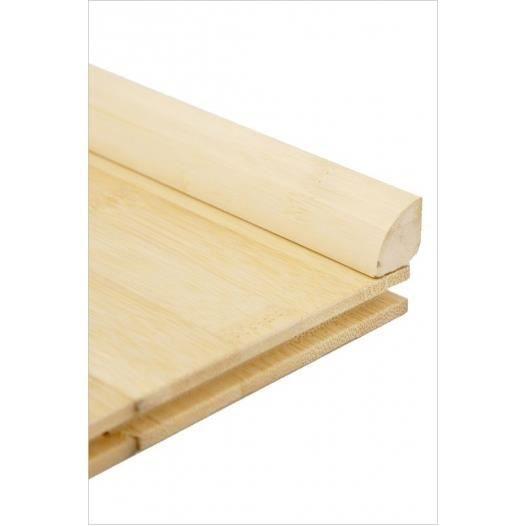 quart de rond bambou horizontal naturel - achat / vente parquet