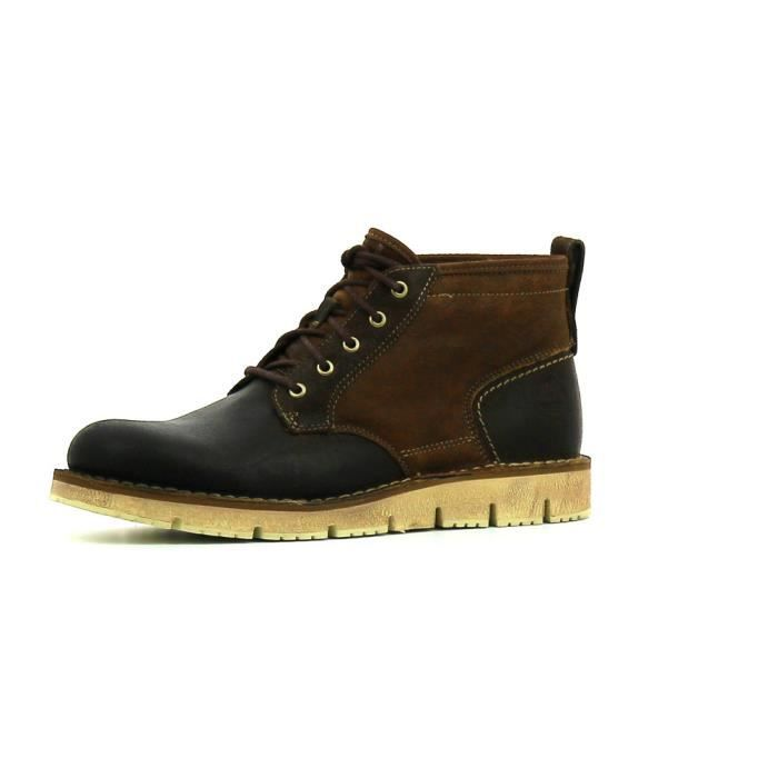 75344b46822 Boots Timberland Westmore Shearling Marron Marron - Achat   Vente ...