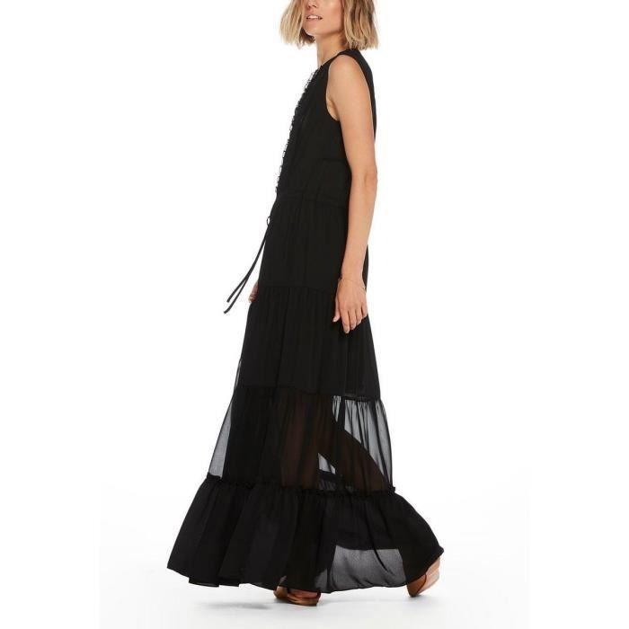 Robes Noir Sc Longues Femmes Vente Robe Achat Maison uTlFKc3J1