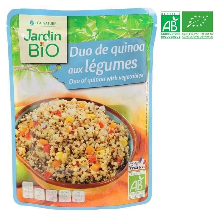 jardin bio duo de quinoa aux lgumes 250 g - Jardin Bio