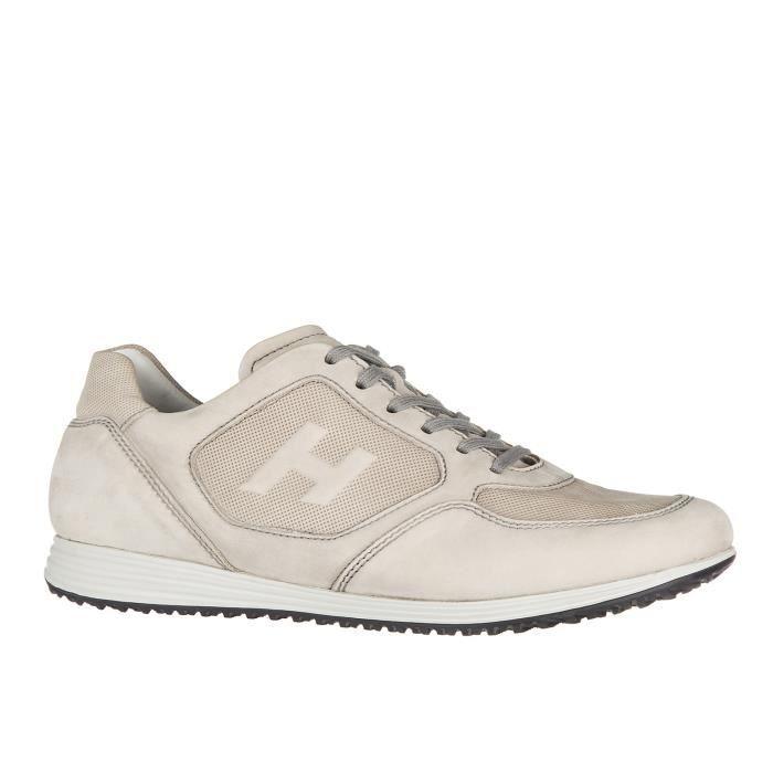 Chaussures baskets sneakers homme en cuir h205 Hogan