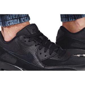 check out feac0 23b98 ... BASKET NIKE Baskets Air Max 90 Premium - Homme - Noir. ‹›