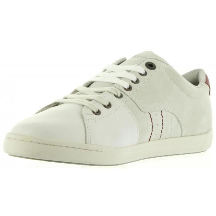 Chaussures pour Homme KICKERS 548530-60 CROTAL 3 BLANC
