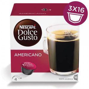 CAFÉ NESCAFÉ DOLCE GUSTO Lot de 3 paquets d'Americano -