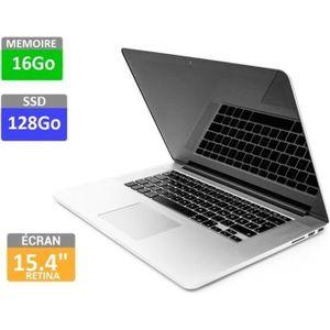 ORDINATEUR PORTABLE Apple MacBook Pro 15 Rétina- Mi 2014 -Model A1398