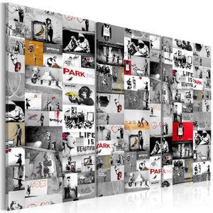 TABLEAU - TOILE Tableau - Street Art: Banksy III - 90x60