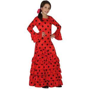 DÉGUISEMENT , PANOPLIE ATOSA Deguisement De Flamenco Rouge Fille , Panopl