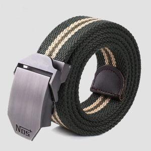 7ba66af43fe3 CEINTURE ET BOUCLE Hommes boucle carrée ceinture de taille sport cour ...