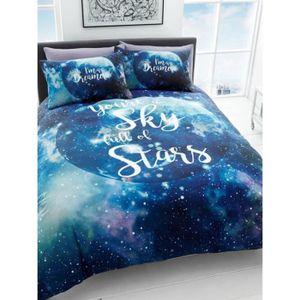 housse de couette 220x220 achat vente pas cher. Black Bedroom Furniture Sets. Home Design Ideas