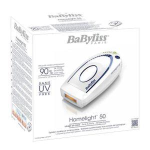 RASOIR MÉCANIQUE BaByliss Homelight - G932E - Epilateur à lumière p