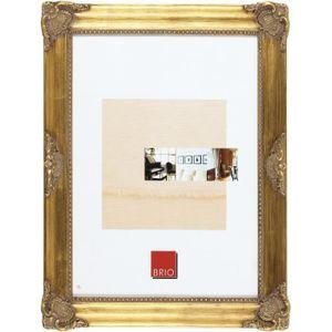 CADRE PHOTO Cadre photo Opéra doré 18x24 cm - Brio, marque fra