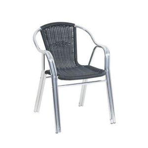 Affordable Great Good Aluminium Mm Source Fauteuil Bistro Achat Vente Pas Cher Cdiscount With Chaise Bistrot Alu