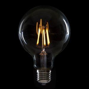 AMPOULE - LED Ampoule À LED Filament Vintage G95 E27 6W 600Lm Is