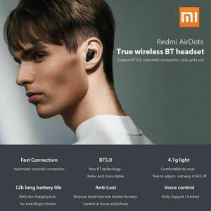 CASQUE - ÉCOUTEURS Xiaomi Redmi AirDots TWS Ecouteurs Bluetooth 5.0 S