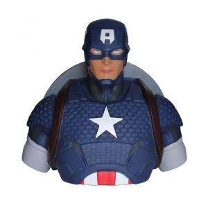 TIRELIRE Tirelire buste Captain America
