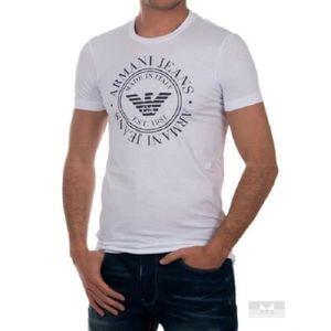 T-SHIRT Tee Shirt Armani Jeans manches courtes pour Homme