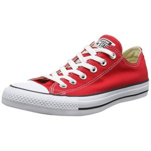 17c5bb6b9ed BASKET CONVERSE All Star Chaussures Ox femmes - Rouge - R