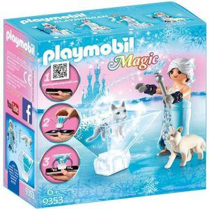 FIGURINE - PERSONNAGE PLAYMOBIL 9353 Magic - Princesse des glaces avec C