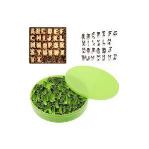 EMPORTE-PIÈCE  Set 26 découpoirs cuisine alphabet petit sablé ...