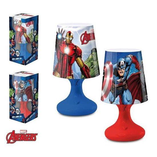 Avengers Lampe De Chevet Rouge Led 8nwPXN0Ok