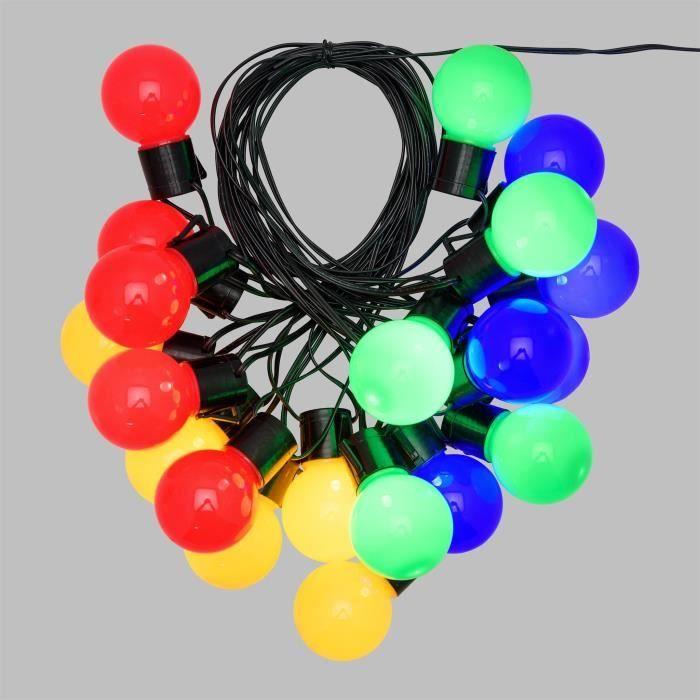LOTTI Guirlande lumineuse LED - 10 m - Ø50 x H60 mm -...