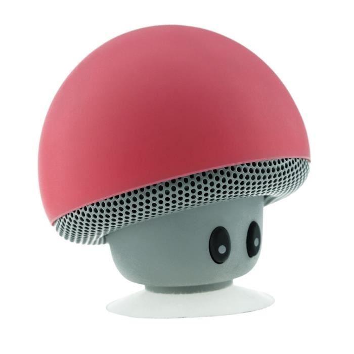 Portable Haut-parleurs Rouge Electronique Sans Fil Mini Bluetooth Haut-parleur Stéréo Musique Téléphone